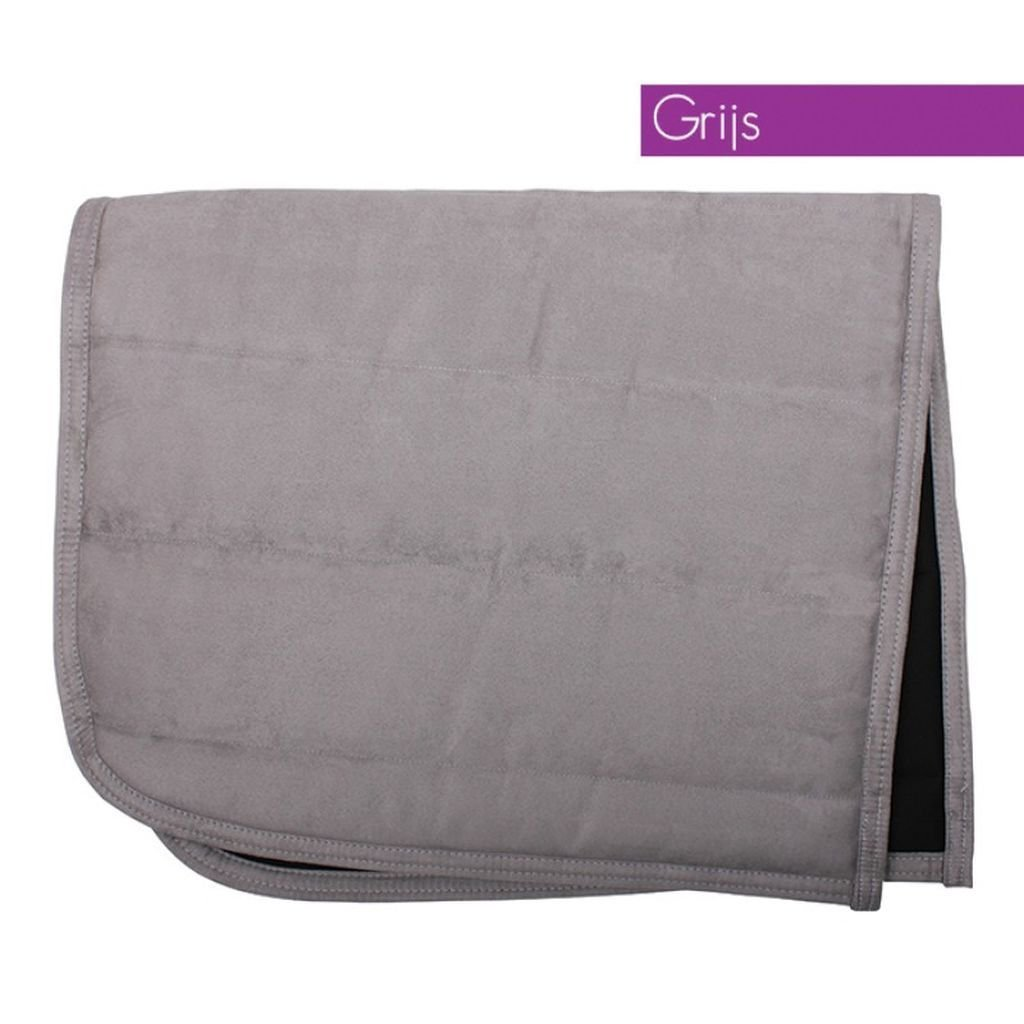 QHP Puff Saddle Pad Pony Grey