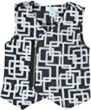 Product review for Whitlow & Hawkins Boys Charcoal Wool Zip-Front Sweater Vest - 6126