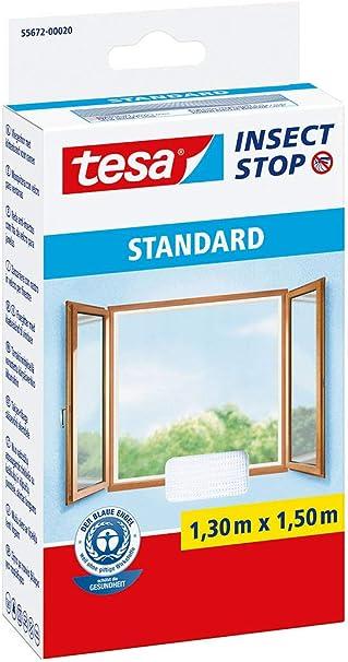 Tesa Standard Moustiquaire-Anthracite 1,1 m x 1,3 m