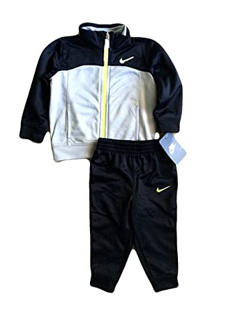 ac80ecab9de Amazon.com  Nike Infant Toddler Baby Track Suit Jacket and Pants Two ...