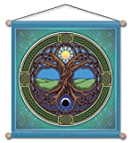 30″ x 30″ Mandala Arts Temple Banner Tree of Life Review