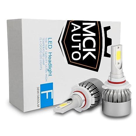 Bombillas LED blancas de repuesto para luces de cruce, Bus CAN, dual, garantía