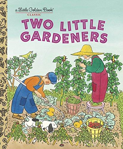 Two Little Gardeners (Little Golden - Little Children Books Brown