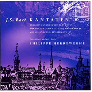 J.S. Bach: Kantaten / Cantatas 39, 93 & 107