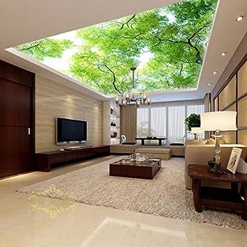 Charmant Wongxl Wohnzimmer Schlafzimmer Große 3D Wallpaper Für Die Decke Aufhängung  Decke Wandbild Wand Zeichen Wohnzimmer