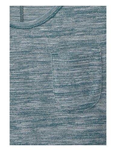 Cecil Nos Magda, Camiseta para Mujer Grün (Emerald Green Melange 11060)