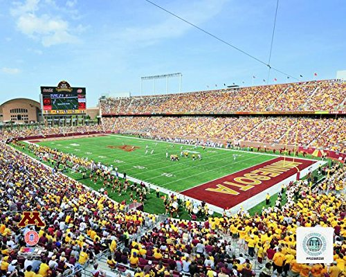 Tcf Bank Stadium Minnesota Golden Gophers 2009 Photo  Size  11  X 14