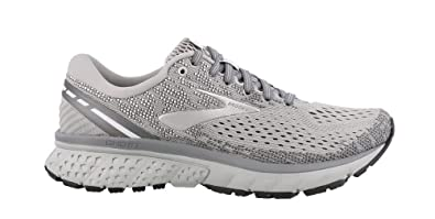 d6c3a5ad4a4f5 Brooks Women s Ghost 11 Grey Silver White 8.5 B US  Amazon.co.uk ...