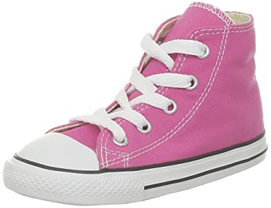 Converse Chuck Taylor All Star Hi Canvas Chaussures Petite Fille Rose 6ZRyXs0