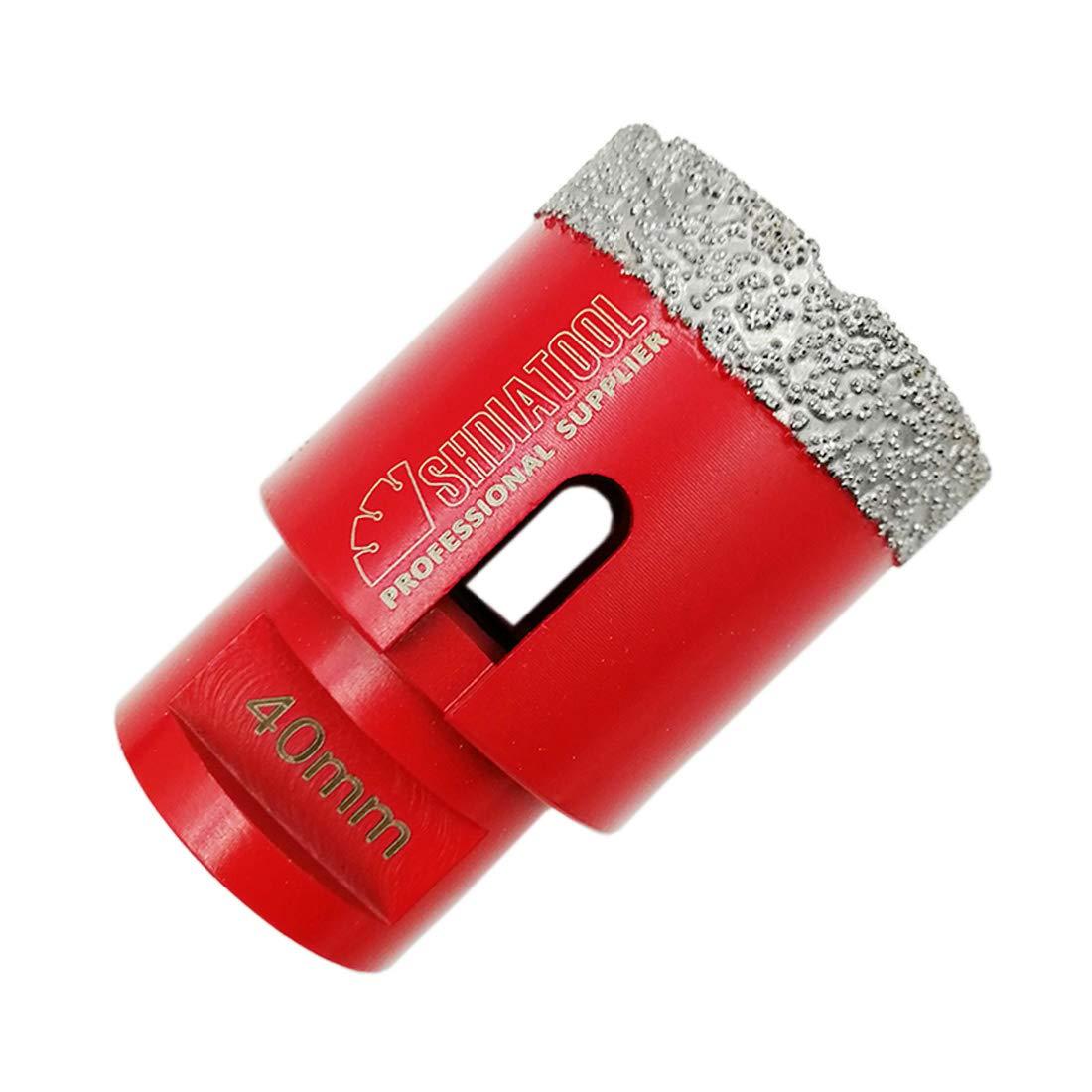 SHDIATOOL Dry Diamond Drill Core Bit Diameter 20mm Vacuum Brazed Drilling Porcelain Tile Granite Marble