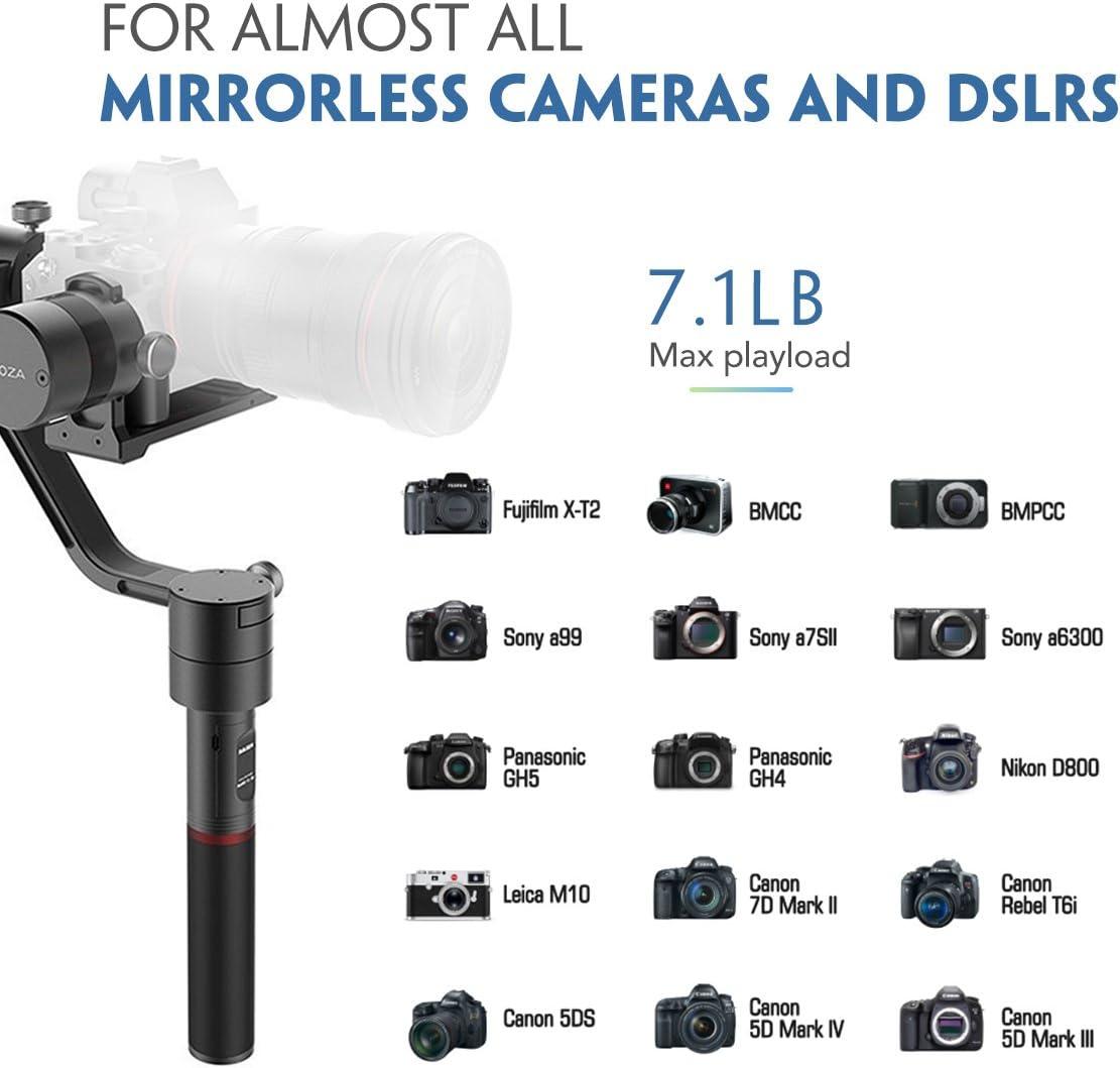 MOZA estabilizador de cardán de Aire para cámara réflex Digital y ...