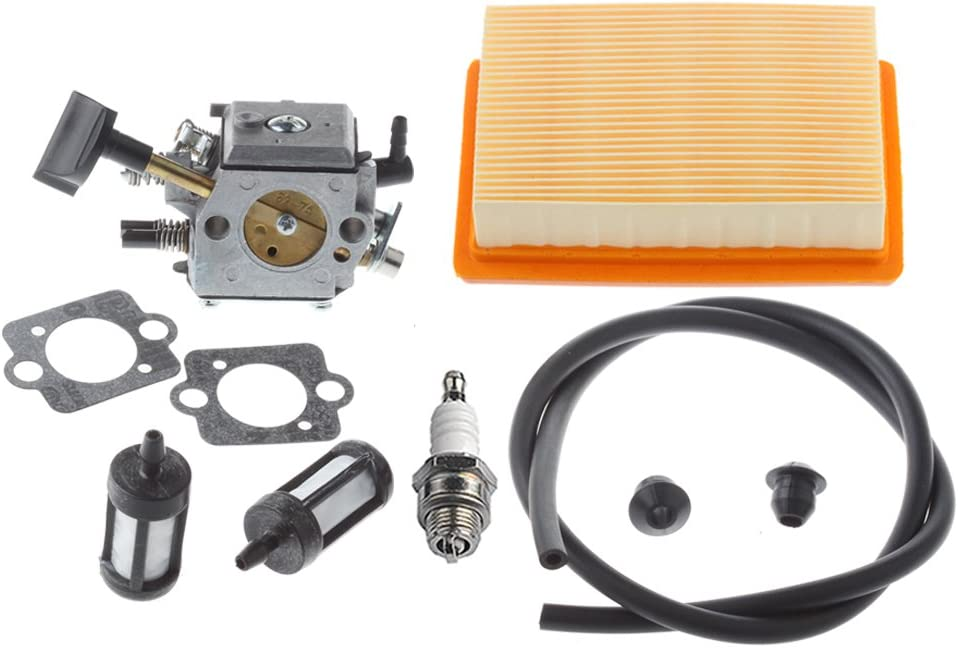 Hipa Carburetor with Repower Kit Air Filter for STIHL BR340 BR340L BR380 BR420 BR420C SR340 SR420 Backpack Blower