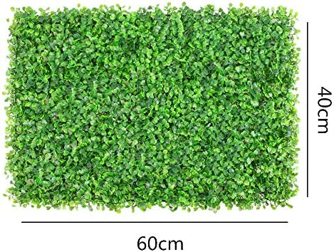 QiHaoHeji Jardin Vertical Artificial Jardín del Patio Tras Valla UV Pantalla Artificial Jardín Poda De Plantas De Cobertura Privacidad Decoración del Hogar 12 Plantas Artificiales: Amazon.es: Hogar