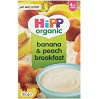 Hipp Organic Banana & Peach Breakfast 4mth+ (230g)