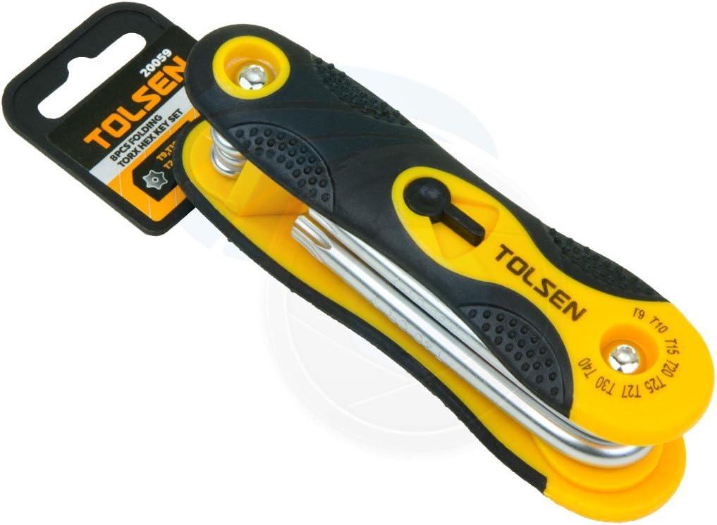 25 Pack Alfa Tools HK15254 T9 Short Arm Torx L Key