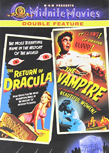Glamour Reeds - The Return of Dracula / The Vampire (Midnite Movies Double Feature)