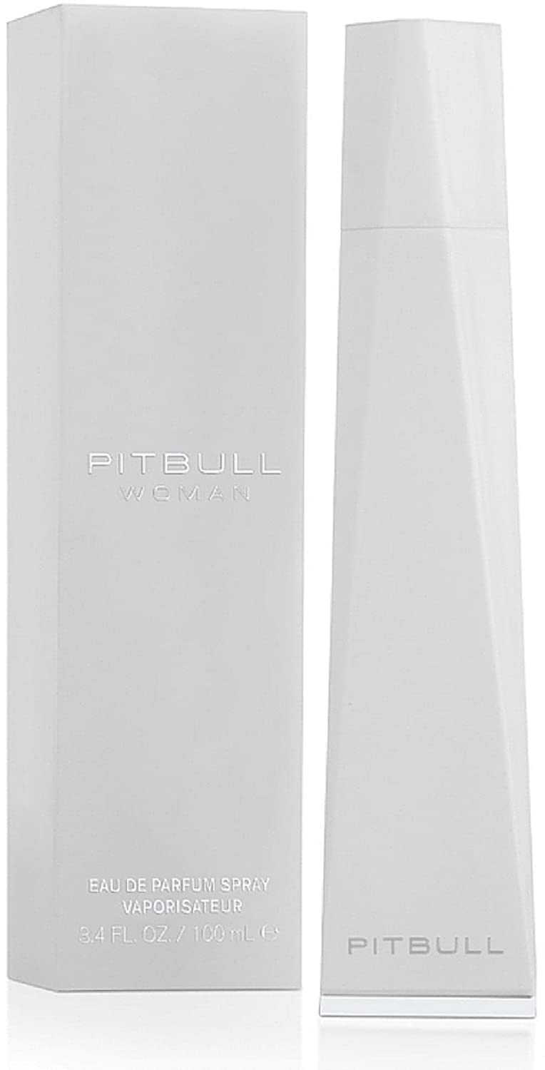 Pitbull Woman Eau de Parfum Spray 3.40 oz (Pack of 1)