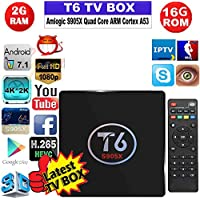 tv box Android 6.0 KDMC 17.3 Wifi 4K UHD H.265 64 Bit smart TV Streaming Media Player 4K 3D 2.4GHz WiFi Media player Set Top Box PK X96