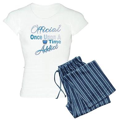 f0b95cbf0 Amazon.com: CafePress - Once Upon A Time Addict - Womens Novelty Cotton  Pajama Set, Comfortable PJ Sleepwear: Clothing