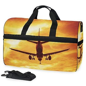 Amazon.com: Business Flights Concept - Bolsa de viaje para ...
