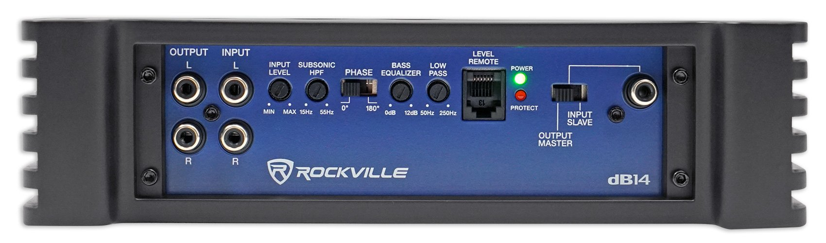 Rockville dB14 4000 Watt/2000w RMS Mono Class D 2 Ohm Amplifier Car Audio Amp by Rockville (Image #4)