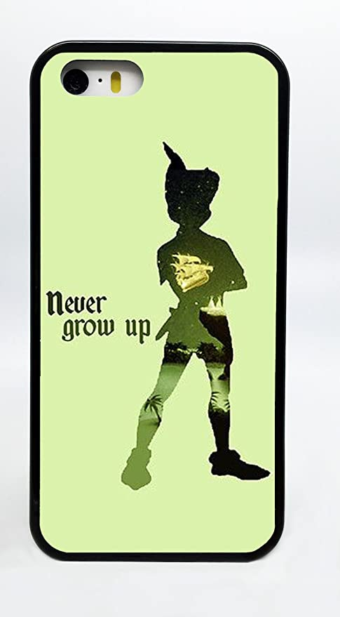 Amazoncom Peter Pan Never Never Land Silhouette Never Grow Up