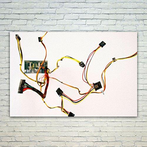 Westlake Art Poster Print Wall Art - Technology Yellow - Mod
