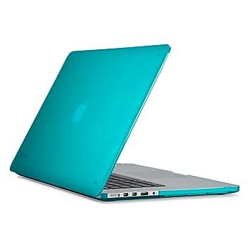 Speck Funda de Estuche SeeThru SmartShell para MacBook Pro 15 (con Pantalla Retina) Azul Calypso