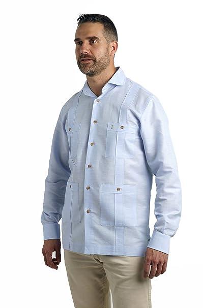 de1d32eae ❤ Camisa Guayabera para Hombre