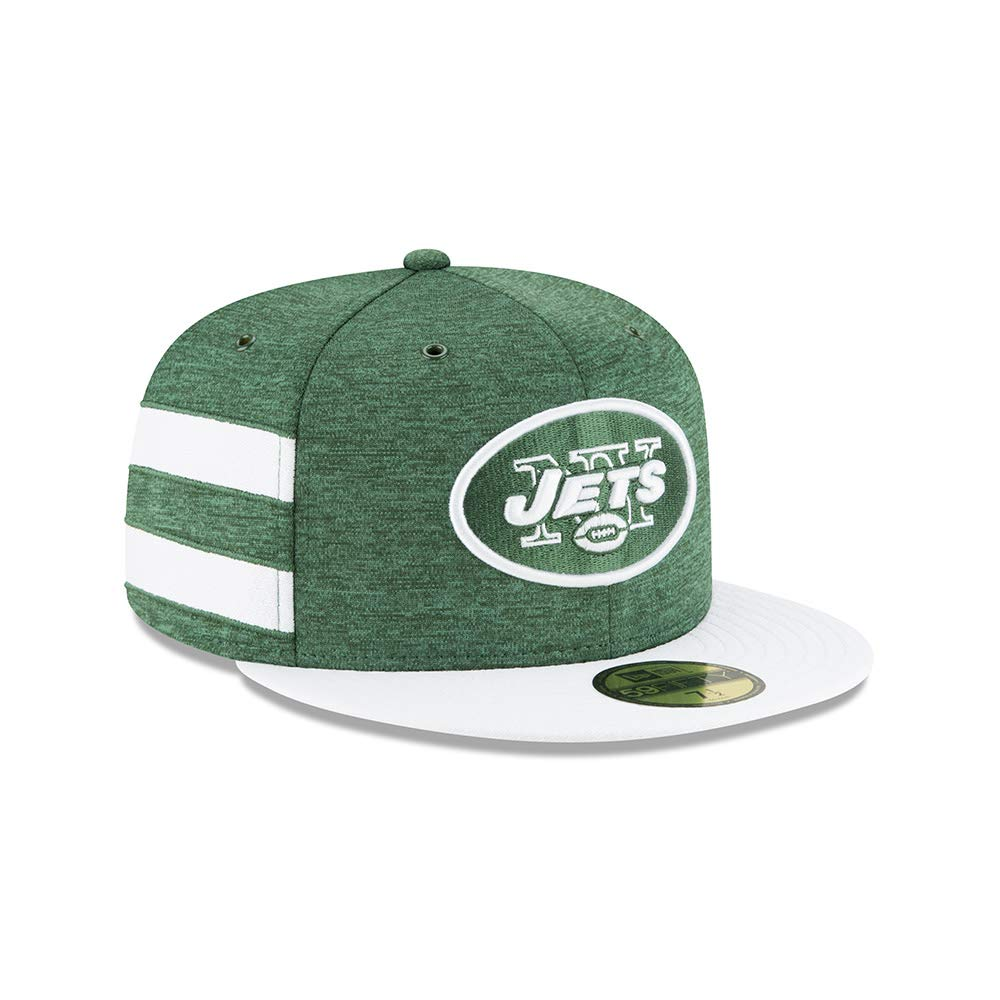 b22f8e35 Amazon.com : New Era New York Jets Green/White 2018 NFL Sideline ...