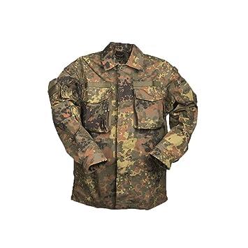 4cfd0c362c8aa Miltec German Flecktarn Commando Smock Shirt Gen. II - XL: Amazon.ca:  Sports & Outdoors
