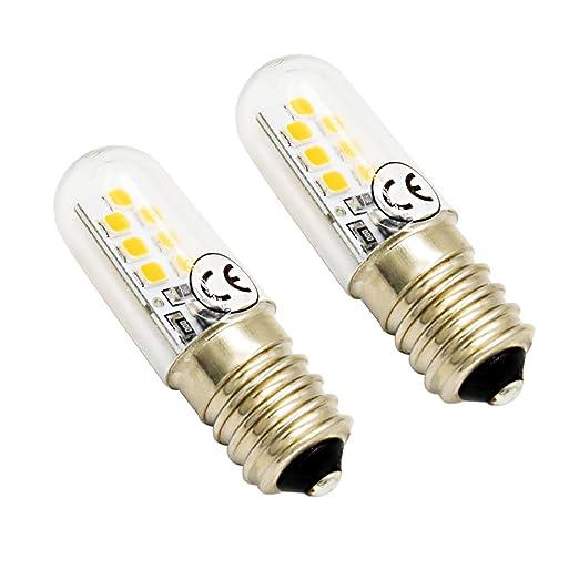 LuxVista 2.5W E14 Dimmable Mini LED Luz de Maíz Bombilla para ...