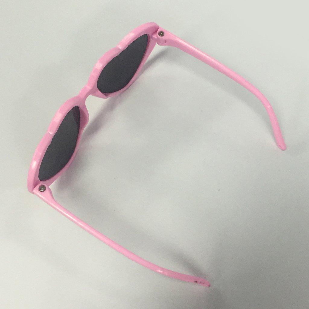 F Fityle Modelo Gafas de Sol en Miniatura para Mu/ñeca Americana 18 Pulgadas Color Blanco y Rosa