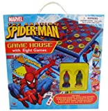 : The Amazing SPIDER-MAN Game House with Eight Games