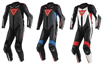 Dainese Laguna Seca D1 perforado 1513430 Race Suit - 948: Amazon ...