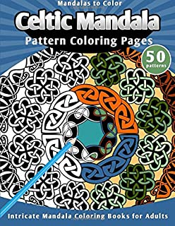 Mandalas To Color Celtic Pattern Coloring Pages