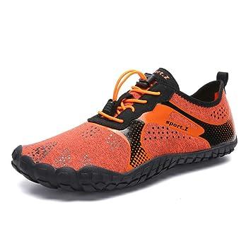 Zapatos acuáticos para hombres, zapatos de secado rápido para deportes acuáticos zapatos de natación unisex