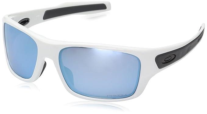 Oakley Turbine XS 900307, Gafas de Sol para Hombre, Blanco, 58