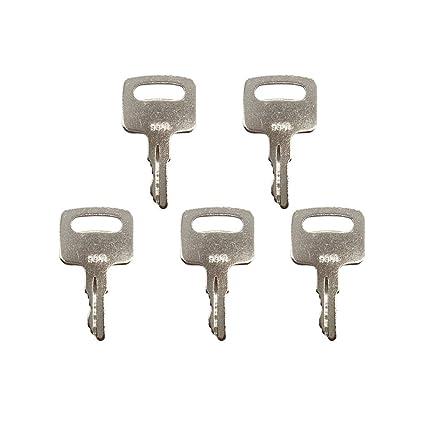 5 PCS 9901 Ignition Key 2860030 for JLG Manlift and Scissors Lift