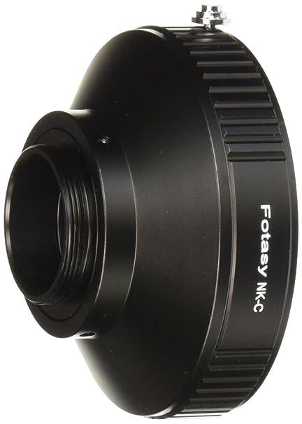 Fotasy Pro Nikon F-Mount Lens to C-Mount Movie CCTV Camera Lens Mount  Adapter