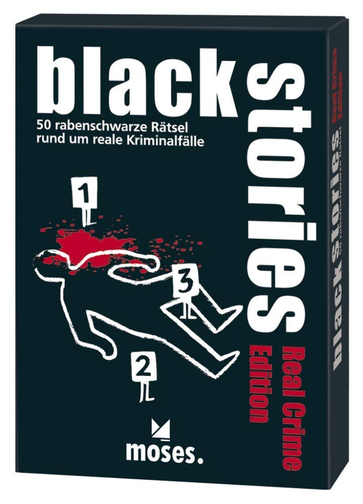 Moses Verlag Black Stories  Real Crime Edition [German Version]