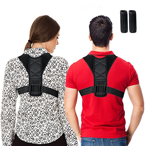Posture Corrector for Men and Women, Best Scoliosis Back Brace Neck Pain...