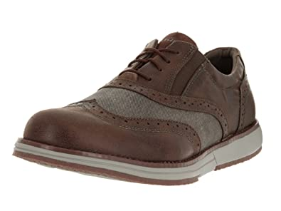 f28faf1f8909 Skechers Men s On The Go Hybrid Brown Ankle-High Oxford Shoe - 7M
