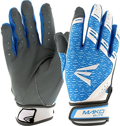 Easton Women's Mako Elite Fastpitch Batting Gloves - Glove Fastpitch Batting Softball