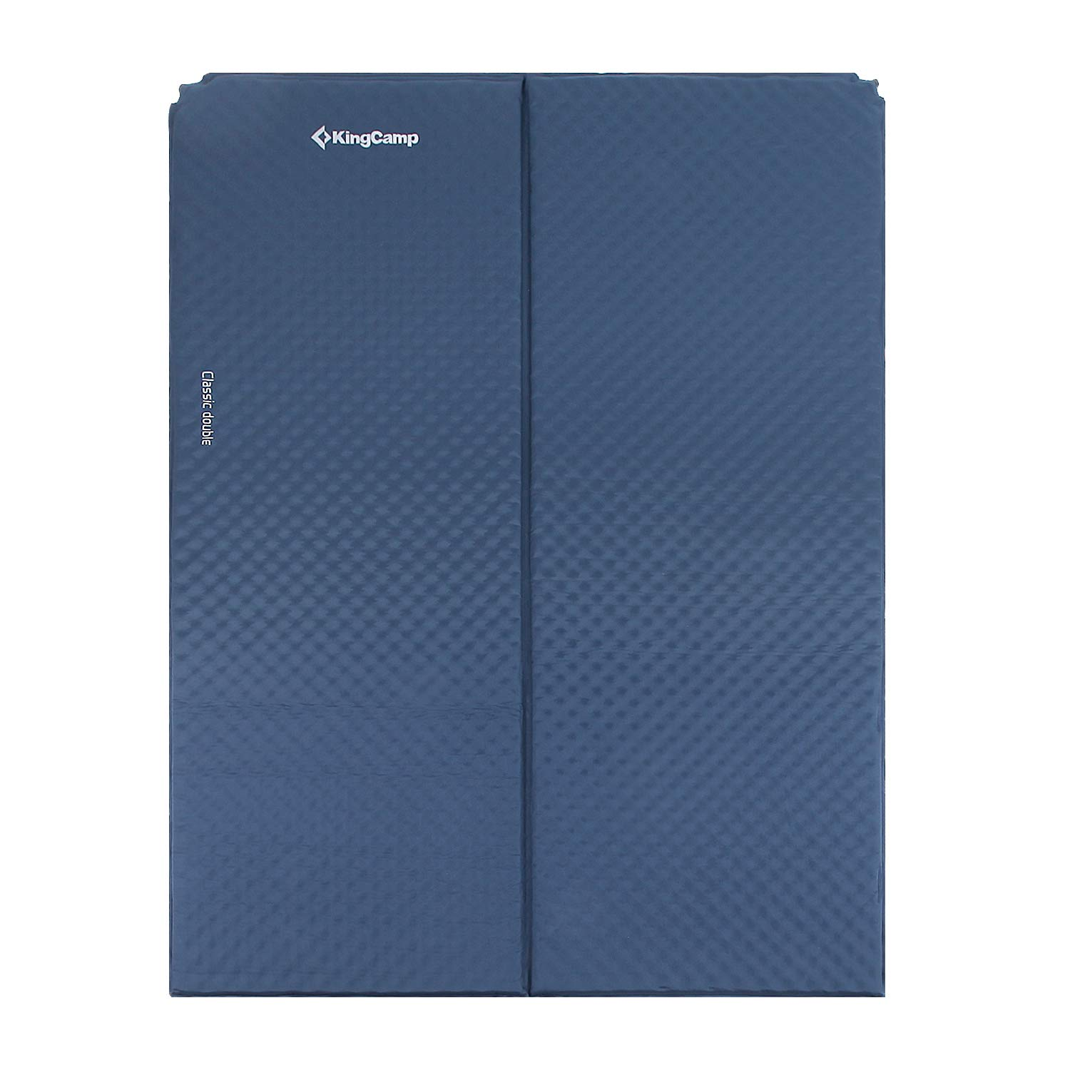 KingCamp Classic Double Light Self-Inflating Camping Sleeping Pad, Foldable Foam Sleeping Mat for Outdoor, Picnic by KingCamp