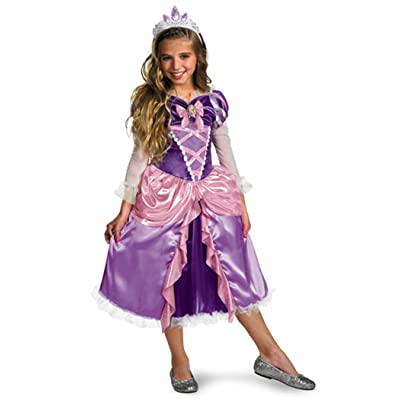 Tangled Princess Rapunzel Shimmer Deluxe Costume: Clothing