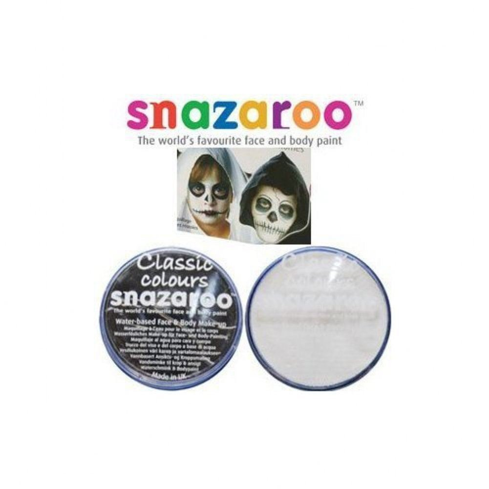 2 Grande 18ml Snazaroo Pintura Facial Compactos Colores: 1 negro y 1 BLANCO [Juguete