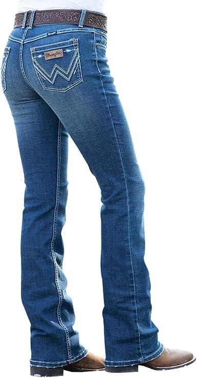 Wrangler Retro Mae Pantalones Vaqueros Medianos Para Mujer 09mwzgn Azul 11w X 30l Amazon Es Ropa Y Accesorios