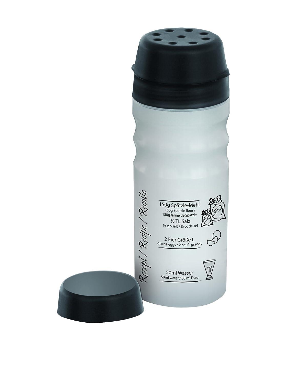 Stoneline 12367 utensilio profesional - 2 raciones de adicional con tapa para salsas para ensaladas, tortitas y huevos revueltos 12367_anthrazit/transparent