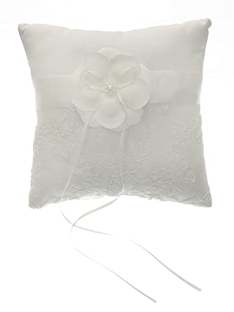 Amazon.com: divadesigns bordado y flores de organza Square ...
